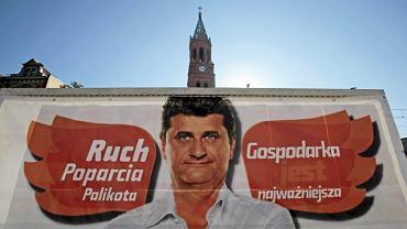 Janusz Palikot - plakat wyborczy