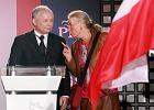 Jadwiga Staniszkis z Jarosławem Kaczyńskim