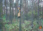 Czym się bawią nastolatki w lesie? Kałasznikowem