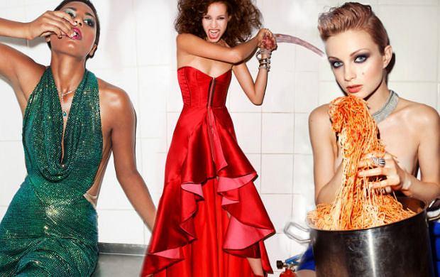 1ddbb48972 Sesja Top Model 2 - polska moda od kuchni