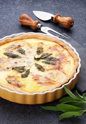 Tarta z dynią i gorgonzolą