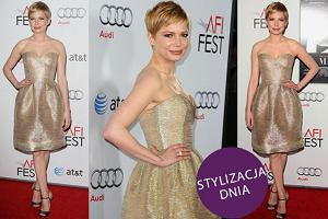 Michelle Williams w sukience Oscara de la Renta