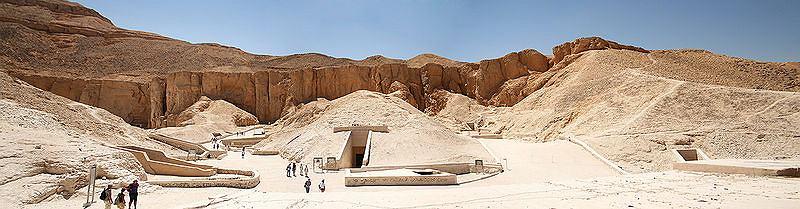 Dolina Królów w Egipcie (Dolina Pięciu Królów), Egipt / fot. Piotr Matyja/CC/Wikipedia