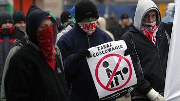 Przeciwnicy Marszu Równości we Wrocławiu
