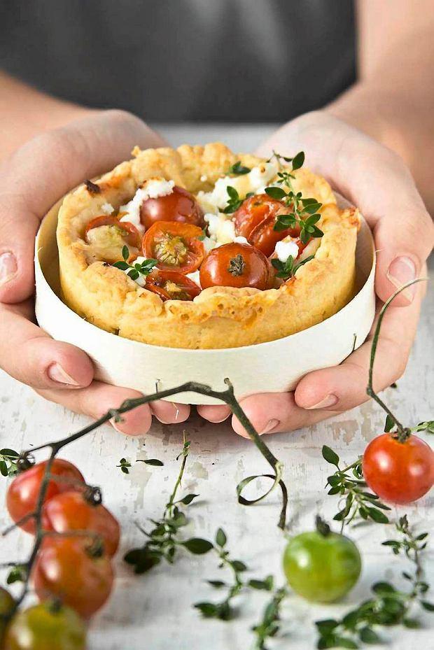 Na serowym kruchym spodzie - wytrawne tarty i babeczki