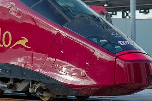"""W�ochy. """"Ferrari na torach"""" - nowy, najszybszy poci�g w Europie!"""