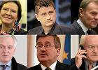 Ewa Kopacz, Janusz Palikot, Donald Tusk, Jaros�aw Gowin, Bronis�aw Komorowski, Leszek Miller