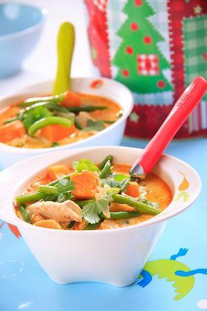 Tajska Zupa Z Kurczakiem I Slodkim Ziemniakiem Prosty Przepis I