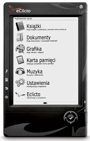 e-book, tablet, książka, czytnik, eClicto
