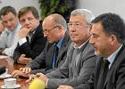 KRRiT: od lewej - Piotr Baron, Lech Haydukiewicz, Witold Kołodziejski, Krzysztof Luft, Jan Dworak, Witold Graboś