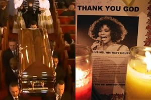 Costner: Mia�a� pi�kn� DUSZ� i by�a� PI�KN� kobiet�. Po�egnano Whitney Houston