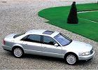 AUDI A8/S8 [D2] 94-02, rok produkcji 2001, sedan, widok przedni prawy, samoch�d 4-drzwiowy, kolor silver grey