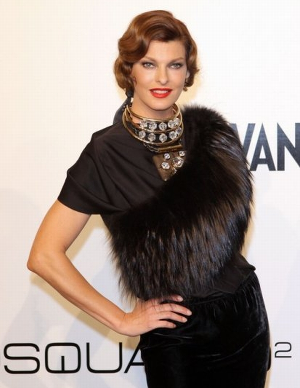Linda Evangelista attending the amfAR Milano 2009 Gala on 28th of september 2009. The amfAR convention Main event on the 28th of September was the TOP event of the VIP's in favour to the Aids Foundation amfAR during the Milano fashion week. Main Sponsor for 12 years is Dr. Hermann_Buehlbecker owner of the LAMBERTZ group together with Liz_Taylor and Sharon_Stone. The highlight at the Cocktail party was the presentation of the Lambertz calendar witch was shooted in Milano. The feedback and vibrancy was from all attendend celebrities was sensationel. The sweet Lambertz goodies during the party had there own success! Only a few of the celebrities were able to get one of the wonderful calendars. The guestlist was as predicted high class. Janet_Jackson, Linda_Evangelista, Dita_von_Teese, Ruppert_Everett as well as the owner of the Fashion labels of Armani, Missoni, and Versace. At the table of Dr. Hermann_Buehlbecker were placed this year Celebrities like Top-Model Sara_Nuru, Lothar_Mathaeus and wife Liliana and pop group No_Angels. amfAR was founded in 1985 from Aids scientist's and supported by many celebrities. From the Start of fighting against Aids the biggest US Charity organisation accumulated more then 100 million US Dollar and helped over 2000 research and science utilities.  Credit: Schraps/Pauli/face to face