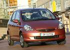 HONDA Jazz 02-08, rok produkcji 2005, coupe, widok przedni prawy, samoch�d 5-drzwiowy, kolor br�zowy