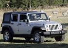 JEEP Wrangler 11-, rok produkcji 2007, softtop, widok przedni prawy, samoch�d 5-drzwiowy, kolor bia�y