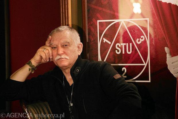 70. urodziny Krzysztofa Jasi�skiego, tw�rcy Teatru STU