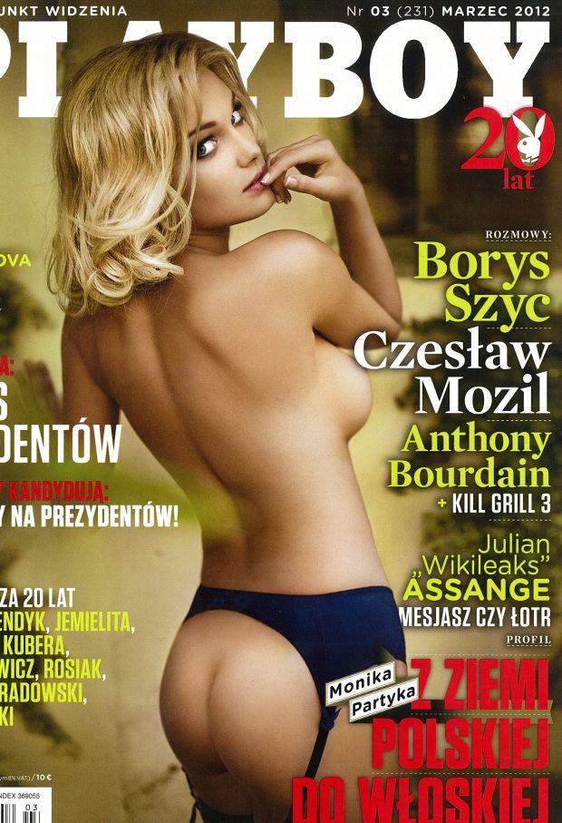 Monika Partyka, Playboy