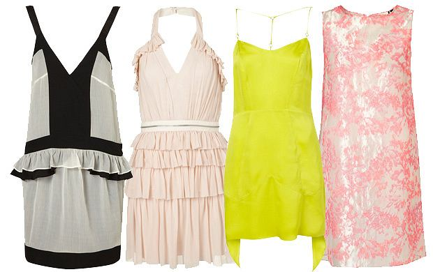 e2051c8848 Topshop - limitowana kolekcja sukienek - wiosna 2012