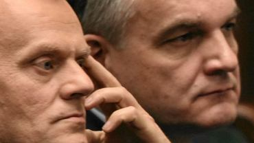 Donald Tusk i Waldemar Pawlak