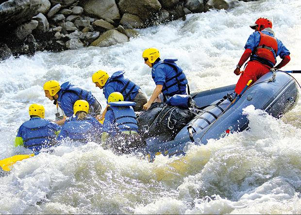 Rafting w Himalajach