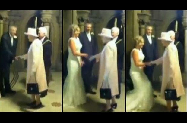 Co Za Szczęściarze Na Ich ślub Nieoczekiwanie Przyszła Królowa