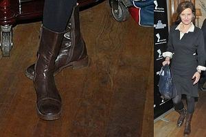 Iza Kuna jest �wietn� aktork�, ale ma... STRASZNE buty!