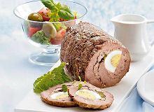 Rolada wołowa z jajkiem i ogórkiem - ugotuj