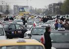 Protest taks�wkarzy w Krakowie