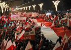 Marsz Solidarno�ci i niepodleg�o�ci zorganizowany przez PiS z okazji 30. rocznicy wprowadzenia stanu wojennego