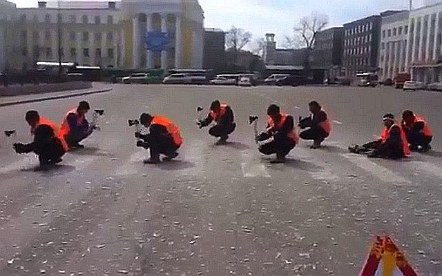 Usuwanie przejścia dla pieszych po rosyjsku