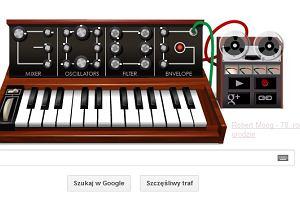 Dzi� Google Doodle to Moogle - ku chwale ojca muzyki elektronicznej, Roberta Mooga