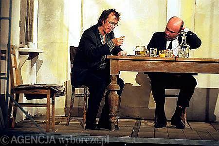 'Wymazywanie' w reżyserii Krystiana Lupy  / Fot. Grażyna Jaworska / AG