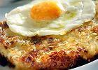 Bubble and squeak (omlet z jajkiem sadzonym)