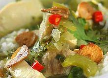 Zupa ryżowa z rybą - ugotuj