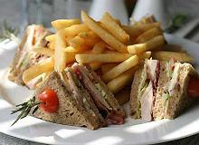 Club Sandwich (tost z kurczakiem i jajkiem) - ugotuj