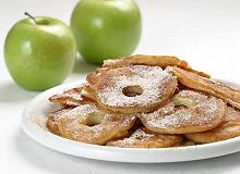 Apple Fritters (smażone krążki jabłek) - ugotuj