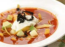 Sopa de tortilla (zupa meksykańska) - ugotuj