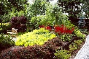 Ogród w podkowie