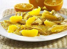 Naleśniki zapiekane pomarańczowe - ugotuj
