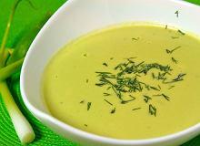 Zupa krem z groszku - ugotuj