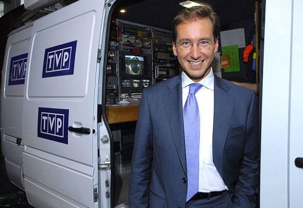 W TVP wyst�pi� reporter, bo prezenterzy zachorowali. Na Irlandi�?
