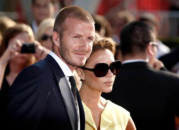 David Beckham pokaza� c�rk�