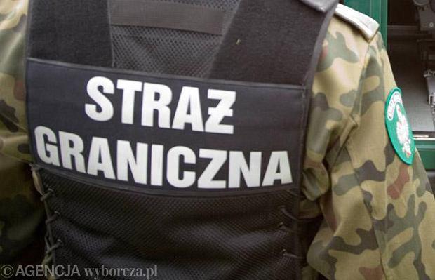 Coraz mniej funkcjonariuszy Stra�y Granicznej