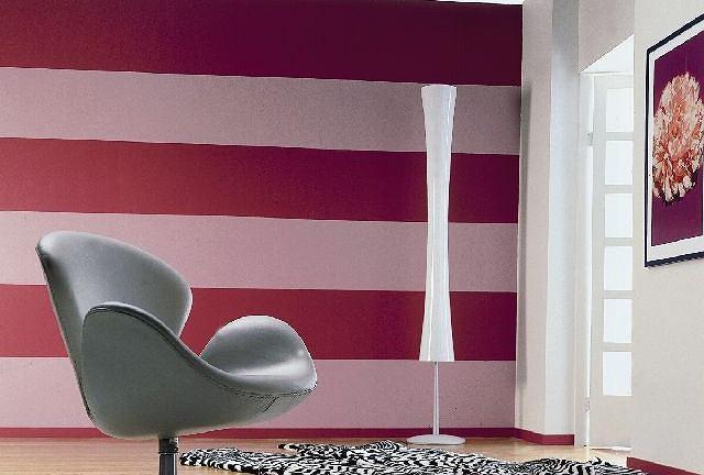 Ta prosta technika znajduje zastosowanie w pomieszczeniach, w których dolne partie ścian szybciej się brudzą lub gdy chcemy je wyróżnić innym kolorem, np. w pokoju dziecka.