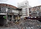 Burz� dawny sklep Feniks przy �elaznej