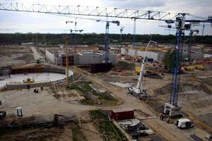 Plac budowy wi�kszy od Stadionu Narodowego