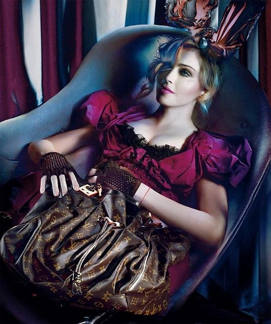 07b583c93f3e7 Madonna dla Louis Vuitton - kampania jesień/zima 2009