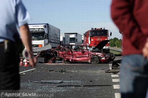 Wypadki w 2011 roku - raport policji