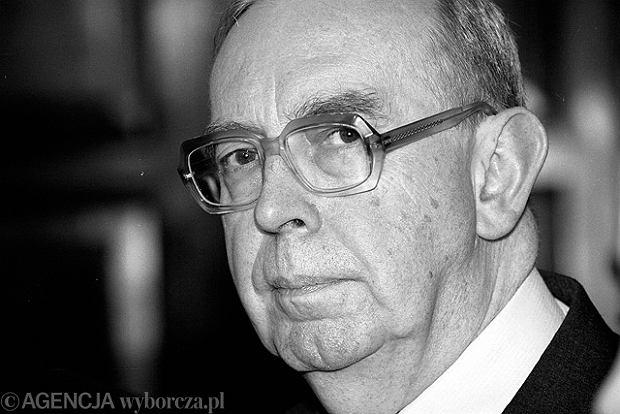Pogrzeb prof. Skubiszewskiego odb�dzie si� 18 lutego