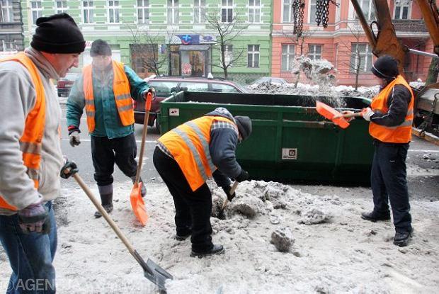 Sezon na prace zimowe rozpoczęty